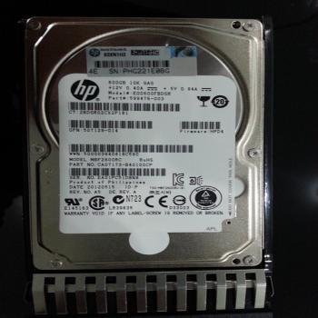HP 600GB 6G SAS 10K-rpm 服务器硬盘